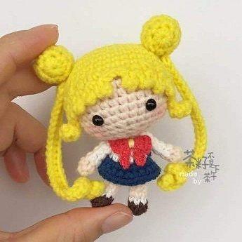 anime chibi crochet-otakulandia.es (3) | Ganchillo amigurumi ... | 345x345