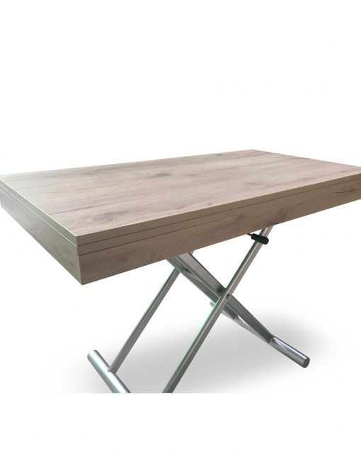 Alzare Square Transforming Coffee Table Adjustable Table