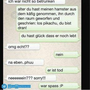 Lustige WhatsApp Bilder und Chat Fails 109 - Hamster-Pikachu