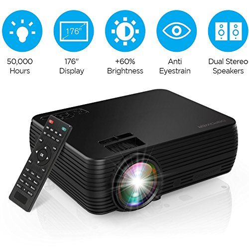 Projector Dbpower Portable Released Compatible In 2020 Amazon Fire Tv Stick Fire Tv Stick Amazon Fire Tv