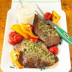 Watch this video to learn how to cook steak in the oven like a pro. This simple method is perfect for those learning how to cook. We're also sharing our favorite broiled steak recipes to try.