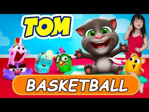 Talking Tom Basketball Game Can You Handle My Talking Tom 2 In Real Life Youtube My Talking Tom Talking Tom Real Life