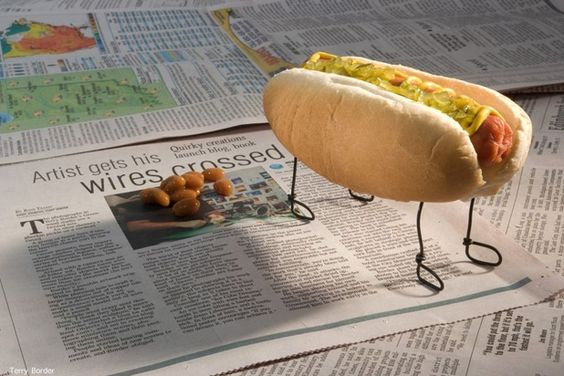 """Paper Training Our Little Dog, Frank 