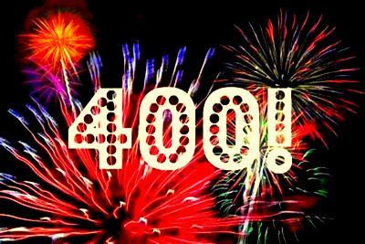 Thank you to all my 400 followers! 2015 was a banger, and 2016 is going to be even BETTER! Love you all.   I R I N A M I