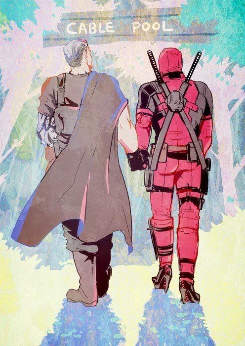 Cablepool Cable Deadpool Slash Marvel Marvel Deadpool