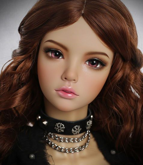 1//4 BJD Doll SD Doll Girl Grace free eyes face make up Beautiful Woman Resin