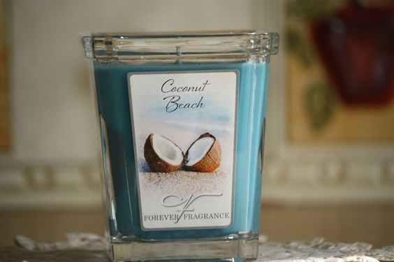 Lot 2 Home Interior/Celebrating Forever Fragrance Candle  Coconut Beach 7.5 oz