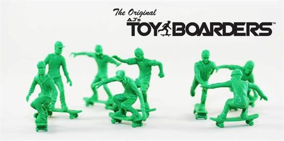 """skate boarding """"army men"""" form Fortrate Distribution"""