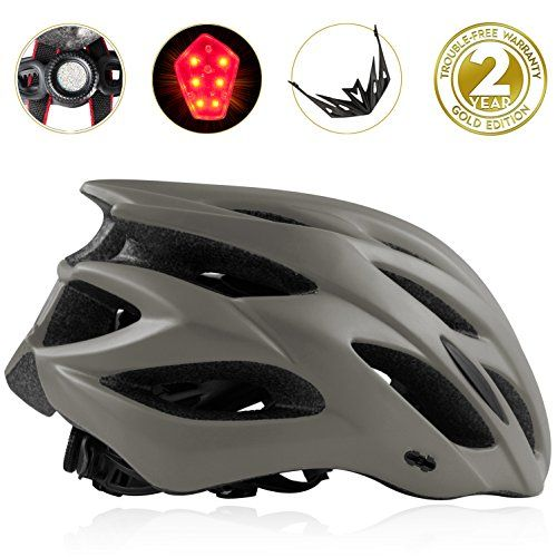 Shinmax Bike Helmet Cpsc Certified Adjustable Lighted Bike Helmet