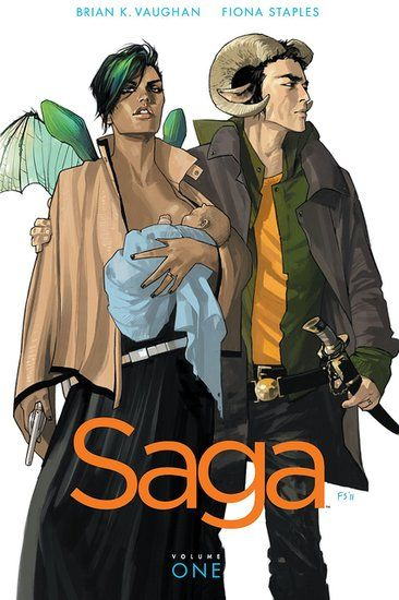 Saga by Brian K. Vaughan was a BIG winner at this year's Eisner Awards.