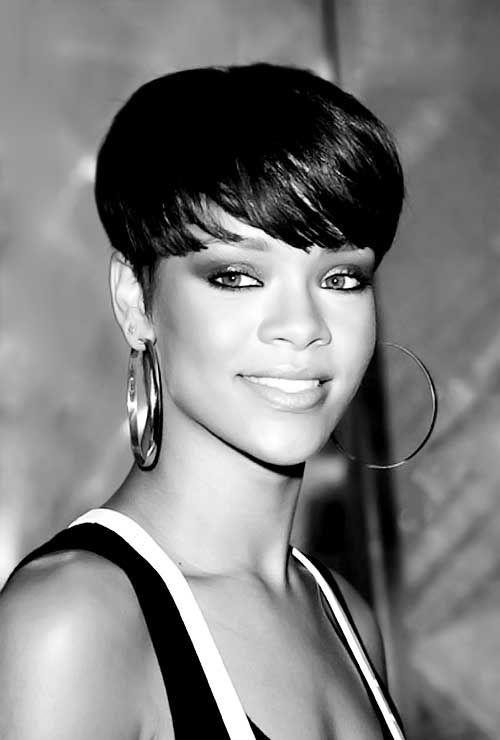 Amazing Black Women Hair African American Hair And Rihanna On Pinterest Short Hairstyles Gunalazisus