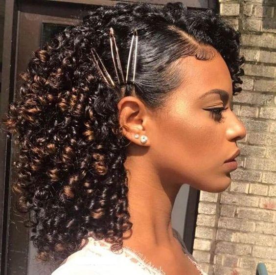 Quick Natural Hairstyle