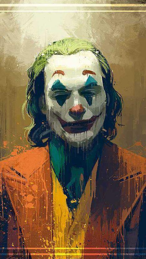 The Crazy Joker Iphone Wallpaper Joker Wallpapers Joker Iphone Wallpaper Joker Art