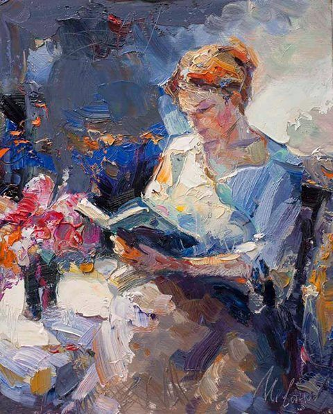 Painting by Stojan Milanov Serbian Artist