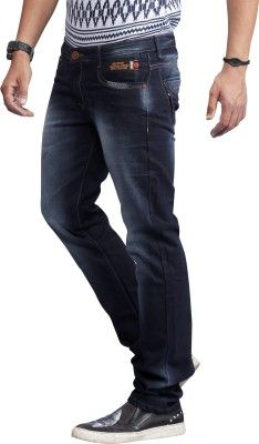 Nostrum Jeans Straight Fit Men&39s Jeans - Buy Dark Blue-Washed In