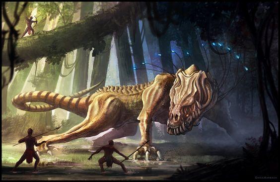 Vis'caar - Sinari Enemy Creature by Chris-Karbach.deviantart.com on @deviantART