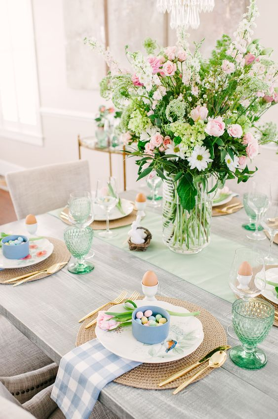 Easter Tablescape | 3 Tips for Selecting Your Tabletop | Color By K