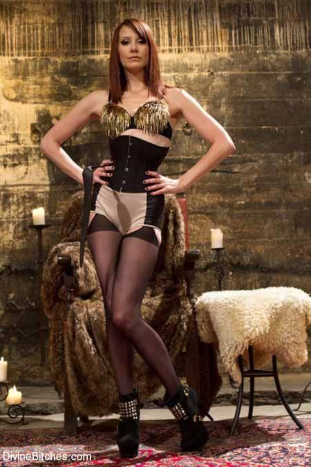 Honey Maitresse Madeline in real BDSM action
