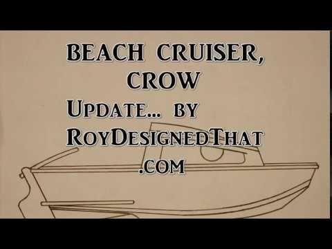 Beach Cruiser Design, CROW update - YouTube