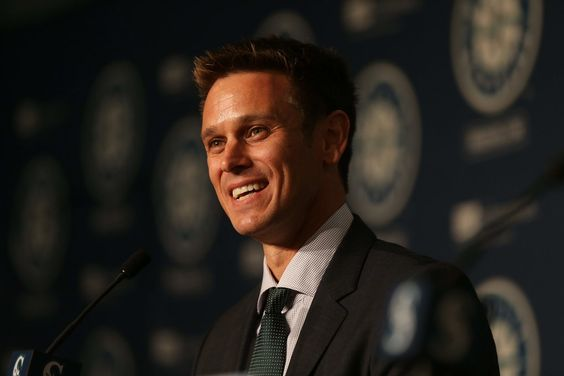The Mariners introduce new general manager Jerry Dipoto on Sept. 29 at Safeco Field.: