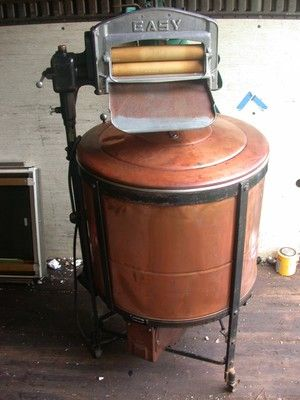 ORIGINAL 1912 PATENTED EASY VINTAGE WASHING MACHINE