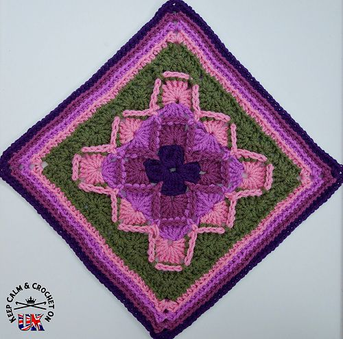 Designed as part of my Keep Calm and Crochet On UK Crochet-A-Long (CAL) 2015…