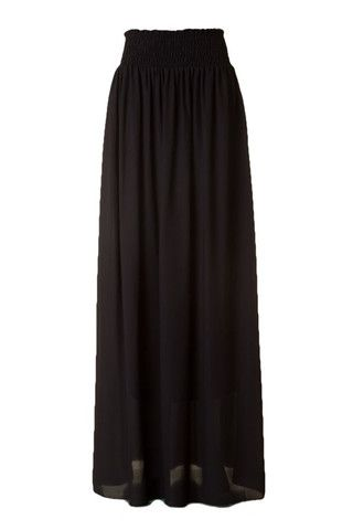 Pixie Maxi Skirt - Black $39