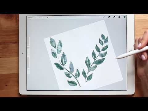 1 How I Make Watercolor Clipart Painting Florals In Procreate Tutorial Youtube Procreate Tutorial Procreate App Tutorial Procreate Ipad Art