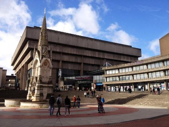 Pocket: Paradise Lost : Birmingham's Central Library and the Battle over Brutalism — Failed Architecture