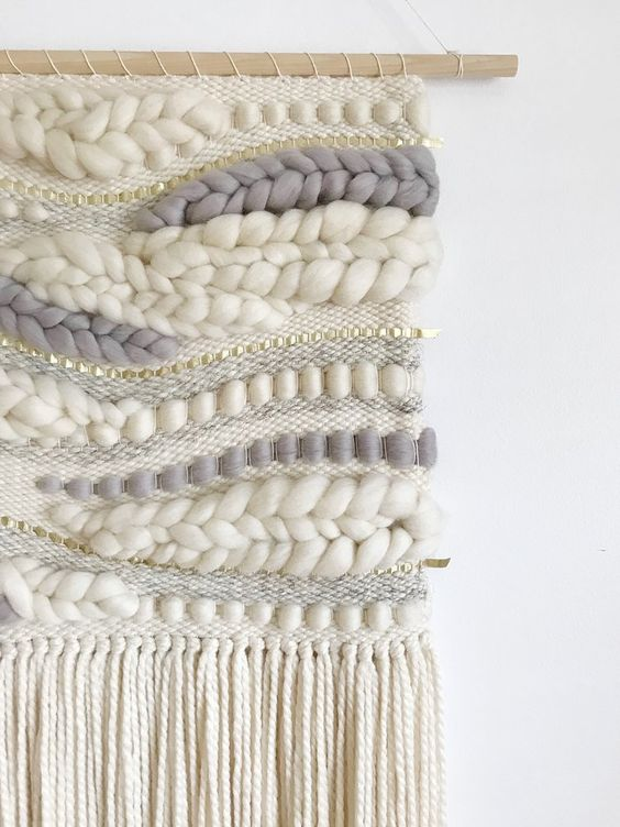 Ivory & Hippo Grey Organic Style Weaving — sunwoven