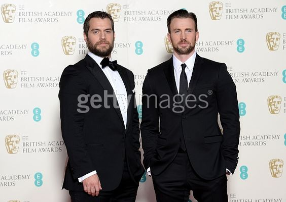 Henry Cavill and Chris Evans...