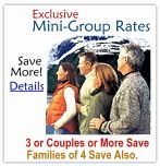 Alaska Cruises and Cruisetours - Small Group - 3 Couples or More - Price Quote
