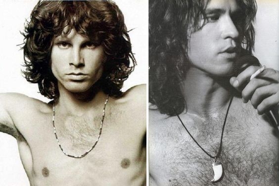 Val Kilmer was the perfect Jim Morrison. Too bad he got fat.