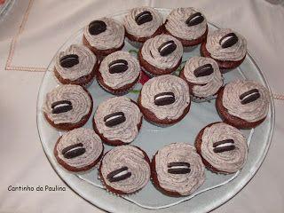 Cupcakes de Bolacha Oreo