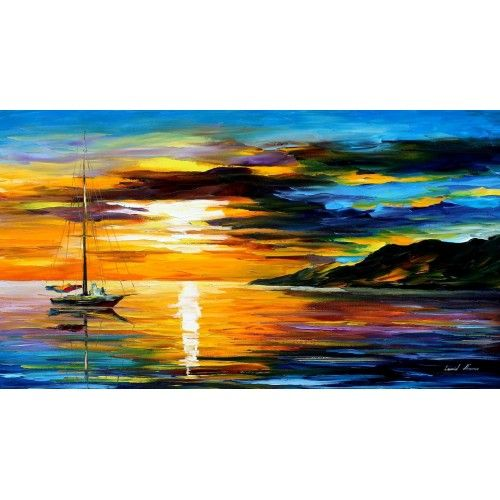 Lenoid Afremov.  Love the colors...