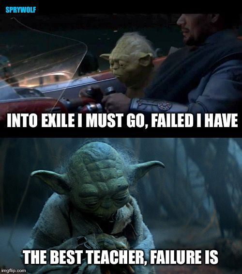 Staying Positive Star Wars Memes Star Wars Yoda Star Wars
