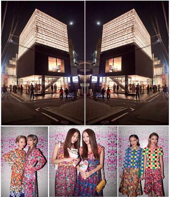 2nd Anniversary Party at the Marc Jacobs Tokyo Flagship store.
