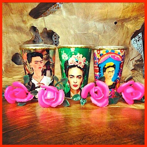 "Votives - MILAGROS MUNDO ""Funky Fairtrade & Hippy Chic"": ❀ VIVA MEXICO ❀"