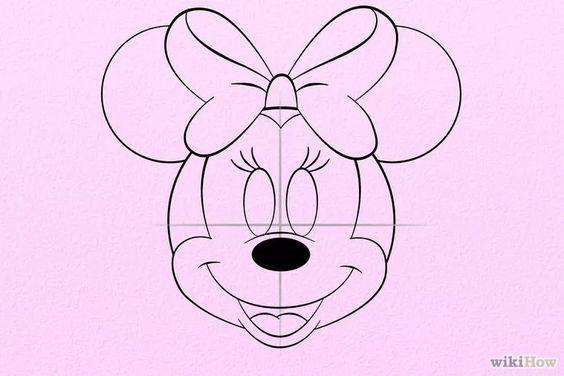 minnie mouse zeichnen # 13