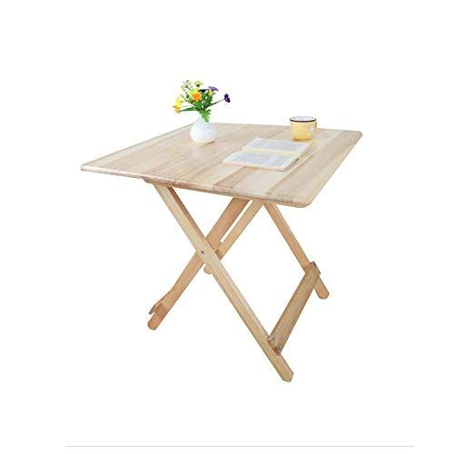 Dqmsb Folding Table Coffee Table Small Dining Table Simple Wooden
