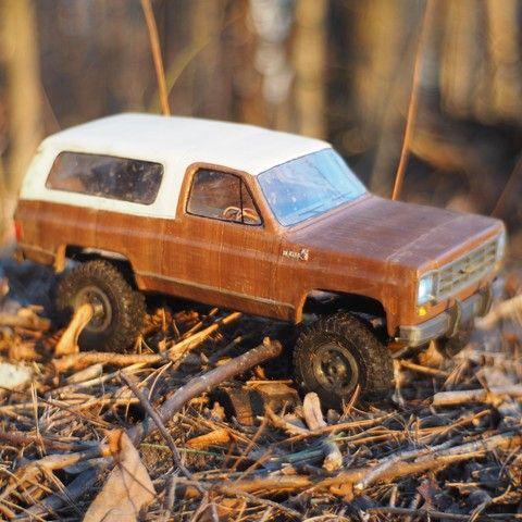 Chevrolet Blazer K5 Rc Model With Wpl Axles 3 D Und 3d Druck