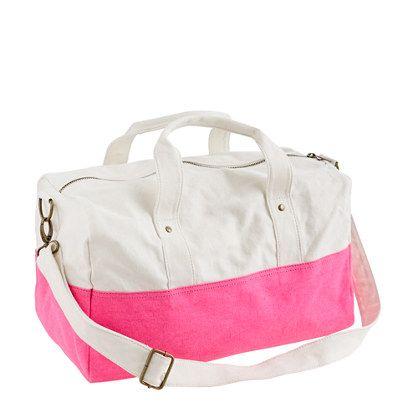 Canvas overnight bag - $36.50