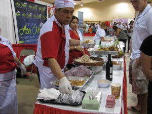 Festival de comida peruana en el sur de la Florida