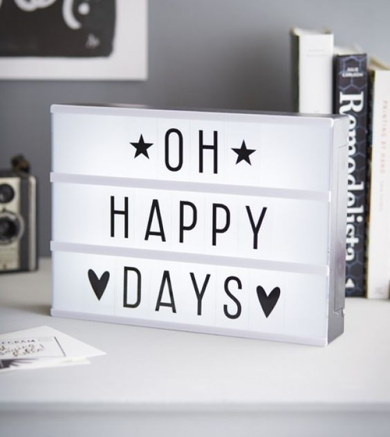 lightbox quotes - oh happy days