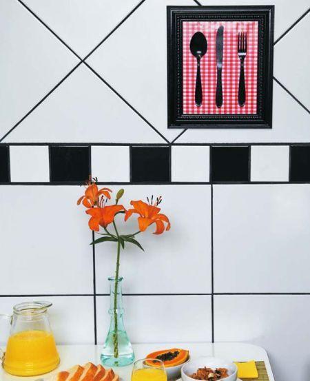 Este quadro gourmet deixará a sua cozinha muito mais bonita (Foto: casa.abril.com.br)