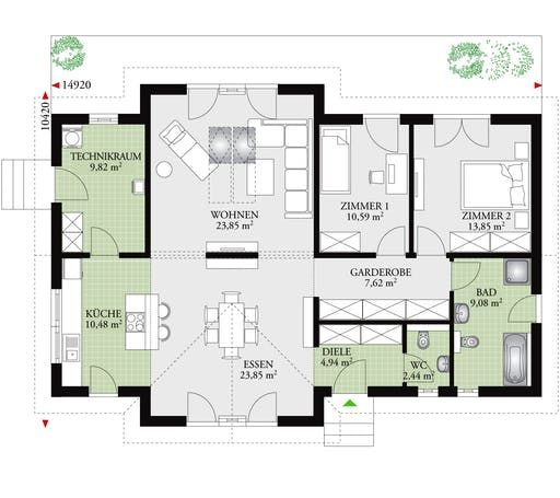 Perfect 118 Floor Plans 0 Haus Architektur Haus Grundriss Bungalow