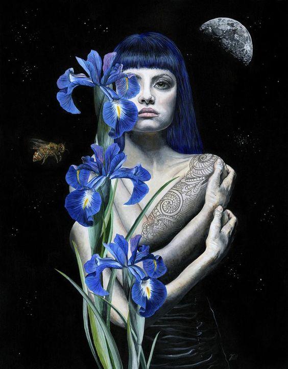The Art of Melissa Hartley #Art #ContemporaryArt #DonneInArte