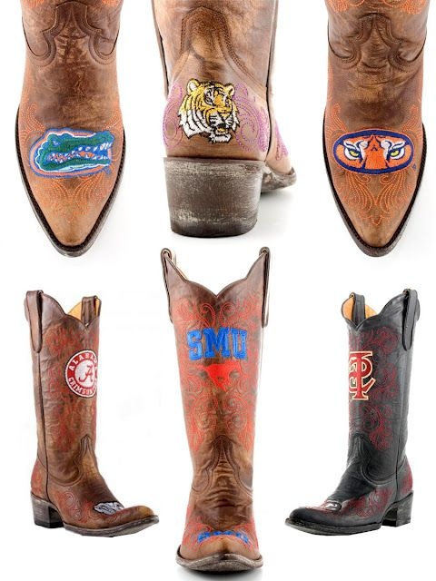 Gameday Boots.   #Gators