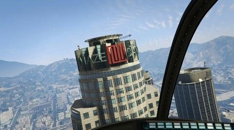 Maze Bank Tower Top Floor Tower Leaning Tower Of Pisa San Andreas