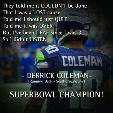 nfl Seattle Seahawks Derrick Coleman LIMITED Jerseys